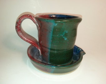 Pottery Bacon Cooker Mult-icolor with 7 Different Colors