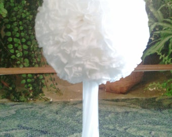 Fluffy wedding decoration