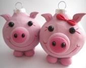 Pig Ornaments