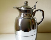 Alfi Chrome Coffee Carafe - West Germany - Mid Century Beverage Pitcher