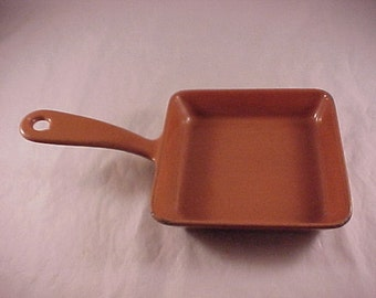 Enameled Cast Iron Fry Pan Ashtray