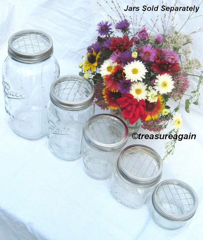 Wedding Flowers In Mason Jars