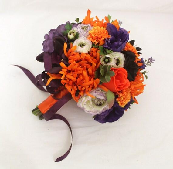 Halloween Wedding Bouquets: Custom Order For Jaws0826 Halloween Inspired Wedding Brides