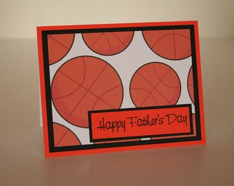 Father's Day Card- Basketballs
