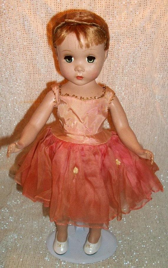 Reserve For Cher 1950s Madame Alexander Treena Ballerina Doll