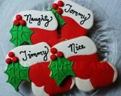Personalized Christmas Stockings (1 dozen)