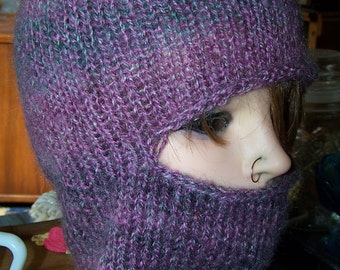 Ladies Balaclava Knitting Pattern : kids balaclava   Etsy UK