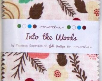 Into The Woods Mini Charm Pack by Moda Fabrics