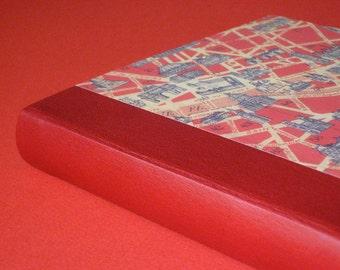 Leather Journal Sketchbook - Red
