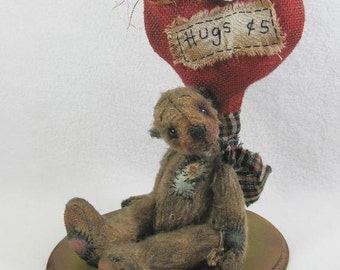 Tattered Hugs - pattern by Monica Spicer - FREE SHIPPING