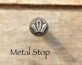 Gemstone Crystal Cluster - Metal Design Stamp great stamping supplies