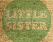 Instant Download - Little Sister in Mint - Download and Print - Image Transfer - Digital Sheet by Room29 Sheet no. 563mint