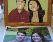 Custom Made One of A Kind Picture,Photo,Photograph Made Into ClayPortrait...