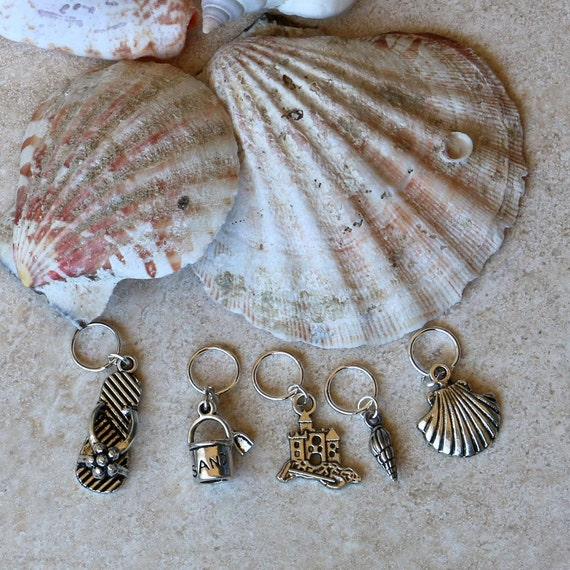Beach Stitch Markers
