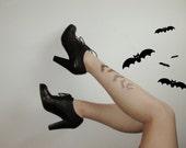 SALE Bat Tattoo Tights