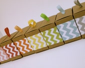 Chevron Paper Ribbon in Your Choice of Color