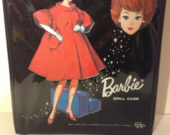 Vintage Black Barbie Doll Case