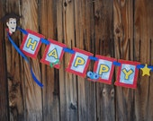 Toy Story, Inspired, Banner, Woody, Jessy, Western Party, Cowboy, Cowgirl, Toys, Birthday, Party, Girl, Boy, Custom