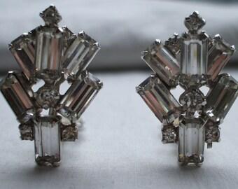 Art deco styled LaRoco earrings