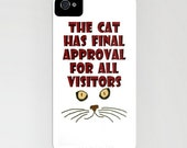 Cats are so independant - My NEW iPhone Skin is really a great gift for Fathers Day. Bridal Parties will welcome this one
