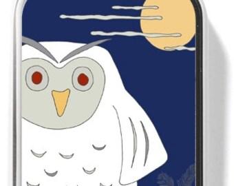 Oscar the owl Pendant with Chain