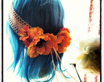 Sunflower Hippie Headband
