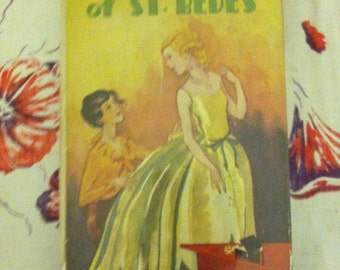 The Girls of St Bedes hardback vintage book girls school adventures good reading private girls school, school series Geraldine Mockler 1929