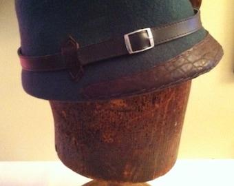 Tortoise high crown cap