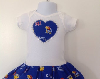 University of Kansas Inspired Dress
