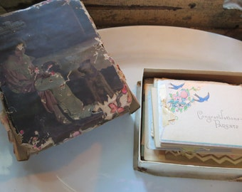 vintage card collection -family tree -ooak~one family over the years~over 50 pieces