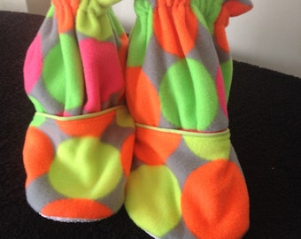 Neon Color Slippers