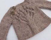 Little Tree Sweater. 0 - 3 months