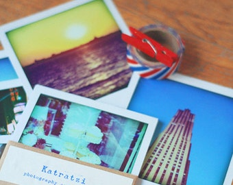 NEW YORK Polaroid pack pictures.