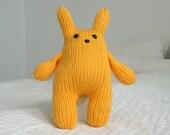 Yellow Squishy Bunny
