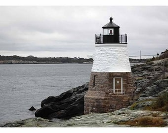 Lighthouse Photography, Castle Hill Lighthouse, Newport Rhode Island, Rhode Island Pictures, Narragansett Bay, New England Lighthouses, Art