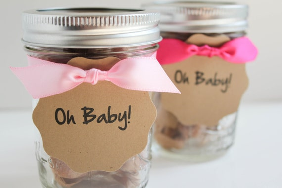 Fleur de Sel Caramel GIRL Baby Shower Favors - 15 Guests
