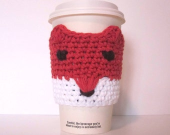 Fox Cup Cozy, Coffee Cozy