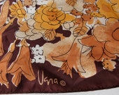Warm Fall Winter Colors VERA brown yellow beige