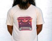 Here's my story - TypeWriter Art T-shirt