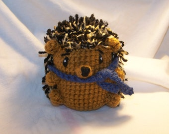 Hemmie the crochet hedgehog ANY colors you want