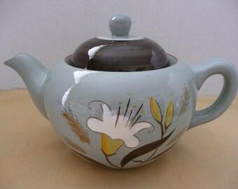 Stangl Golden Harvest Ceramic Teapot - Made in America