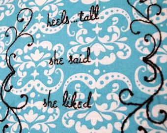 Hand-Stitched LL Cool J Lyrics - Goin Back To Cali