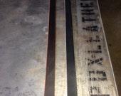 Custom belt blanks-use your own buckle