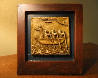Handmade St Brendan Tableau: Graduation, New Business, New Job