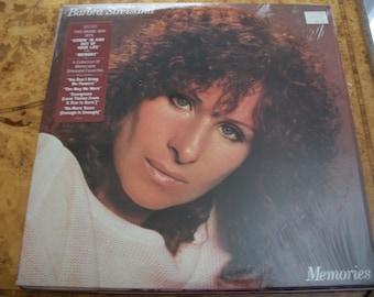 Barbra Streisand, Memories Vinyl LP Record Album,  by Nanas Vintage Shop