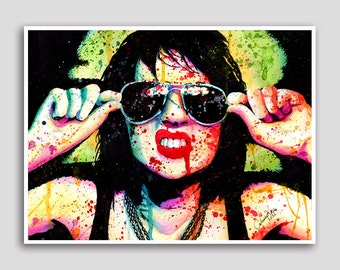 20 PERCENT OFF F-ck You Tough Guy 18x24 inch poster sized art print