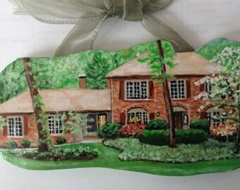 Custom House Ornaments EXTRA Detail