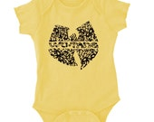 Wu Tang Killa Bees Onesie One Piece BodySuit or Toddler T-Shirt  - ON SALE!
