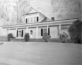 Custom Pencil Drawing From Your Photo - 11x14 Original House Home Landscape Sketch Art From Picture