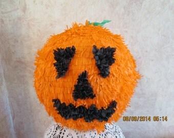 Pumpkin Pinata - Halloween Party Pinata - Jack O Lantern Pinata - Halloween Party Decor